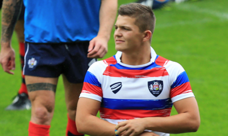 Bristol Rugby Academy, Callum Sheedy, signs with Cinderford RFC in dual registration deal