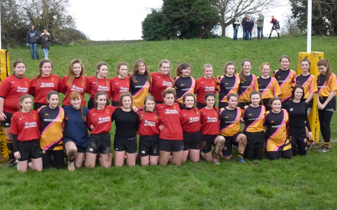 Cinderford U15 Girls beat Tewksbury 83-0