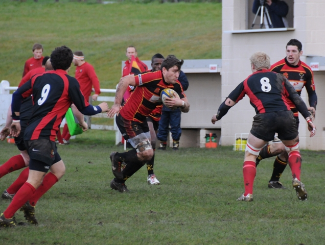 Cinderford United 44-0 Luctonians 2nd XV