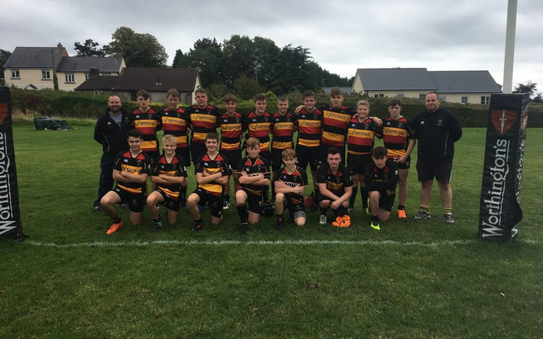 Strong team performance from Cinderford U-15