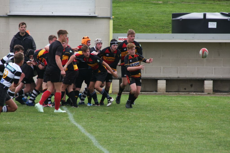 Clinical Cinderford u15's win again