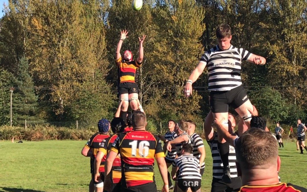 Cinderford United 24 Chinnor Falcons 35