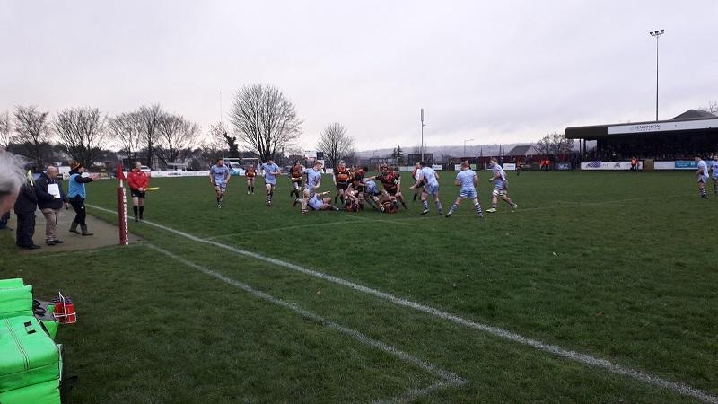 Rotherham Titans 20-3 Cinderford