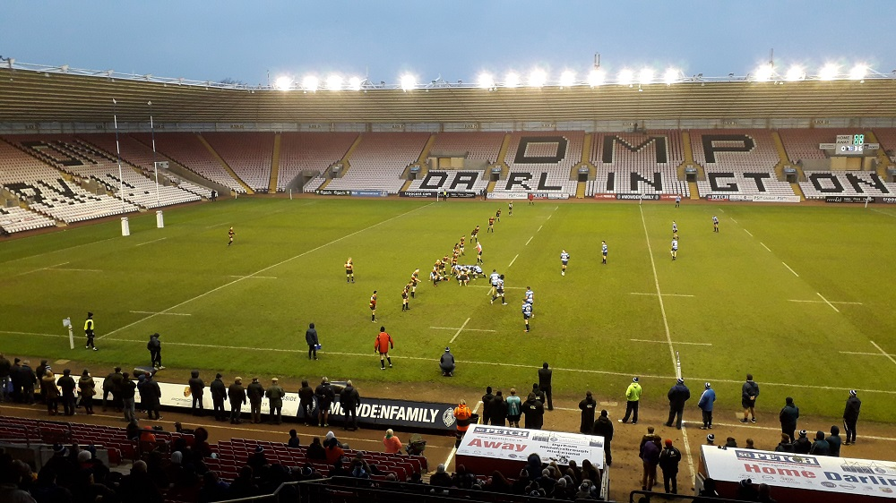 Darlington Mowden Park 10-7 Cinderford