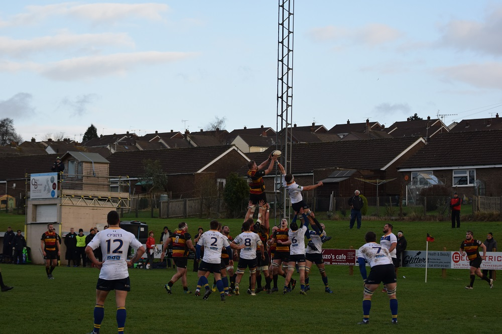 Cinderford 12-32 Old Elthamians