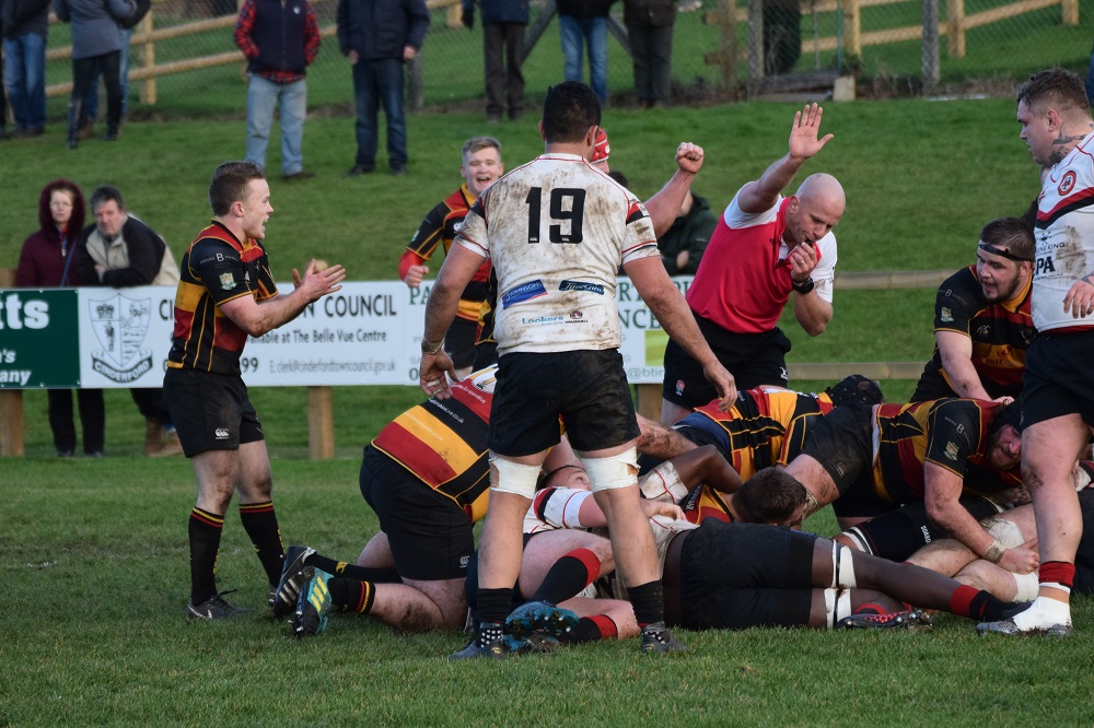 Cinderford 38-14 Birmingham Moseley