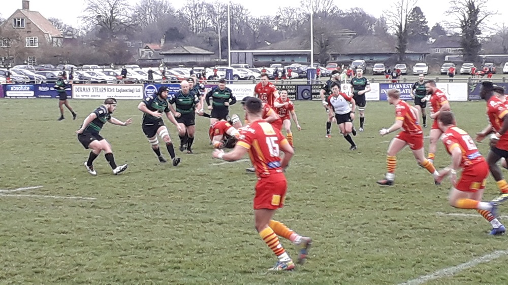 Cambridge 10-6 Cinderford