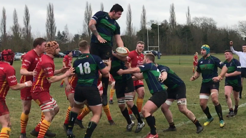 Cambridge 2nd XV 40 Cinderford United 5