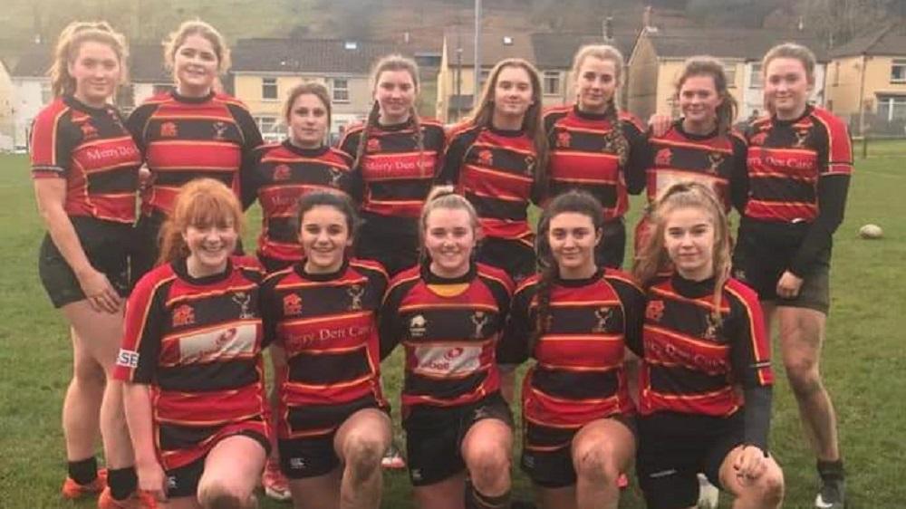 Kingswood U18's Girls 12-75 Cinderford U18's Girls