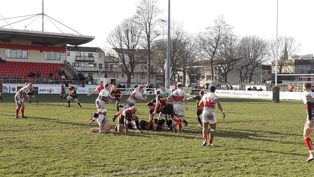 Plymouth Albion 21-10 Cinderford