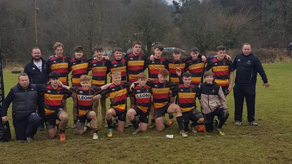 Cinderford Under 15's turn on the style