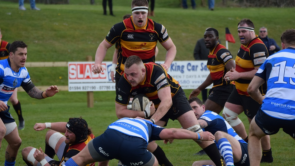 Cinderford 29-26 Darlington Mowden Park