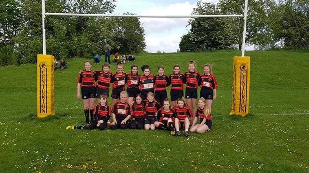 Tewksbury/Richians U13s Girls 35 Cinderford U13's Girls 35
