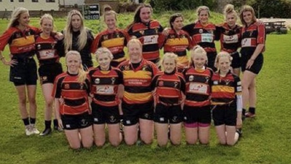 Cinderford U15's Girls 21 Old Richians U15's Girls 7