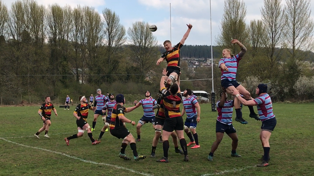Cinderford United 48 Wimbledon 2nd XV 12