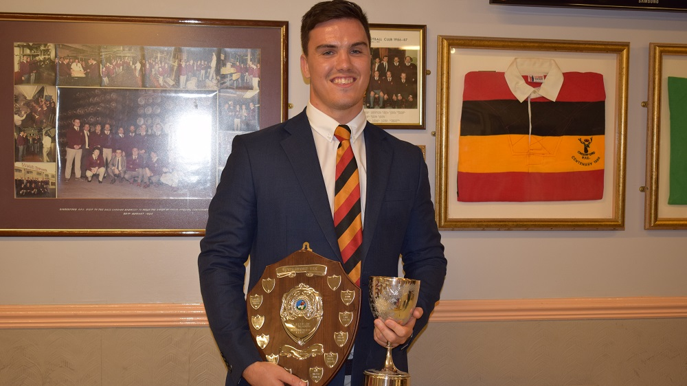 Cinderford award's evening sees Aaron Ryan win the silverware