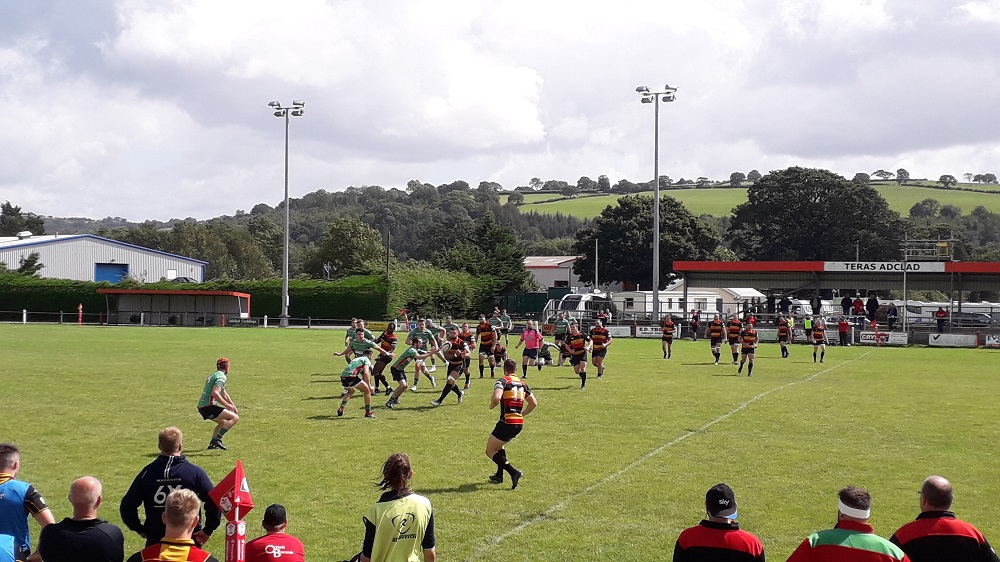 Cinderford win pre-season friendly at Llandovery