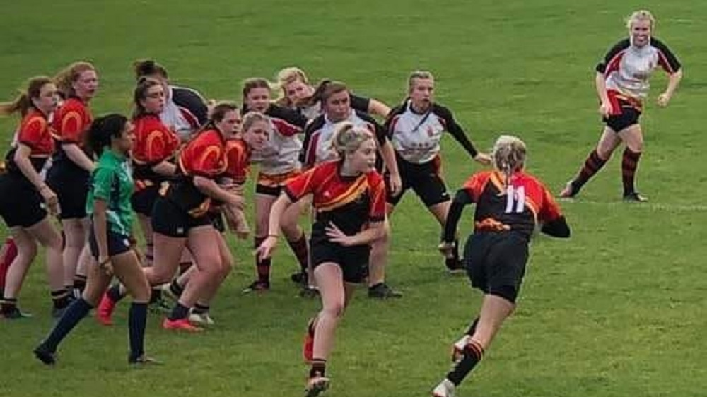Under 18's Girls in cup romp