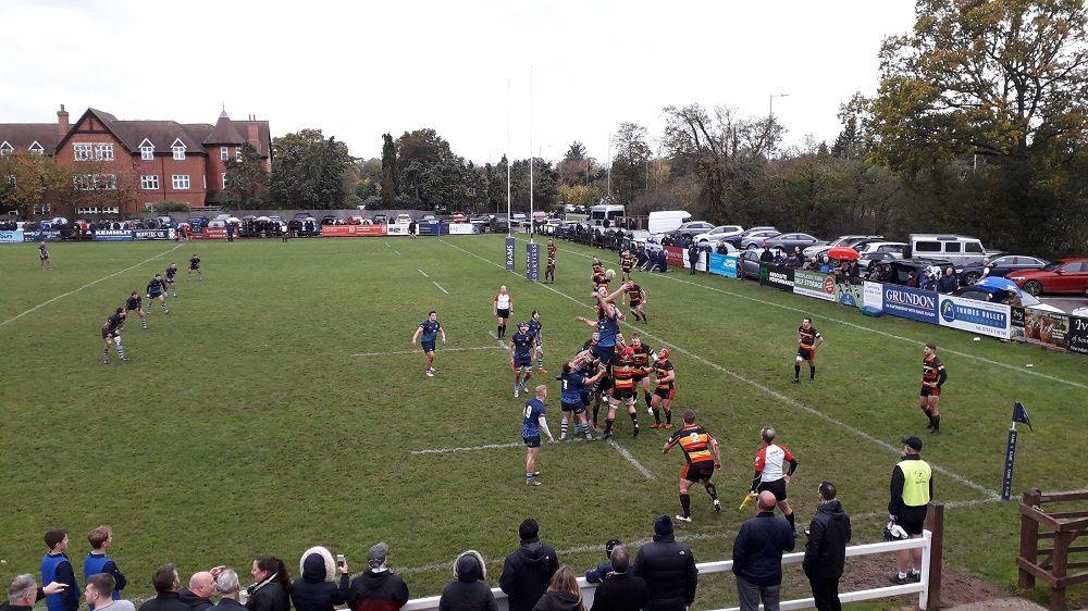Rams 29-7 Cinderford