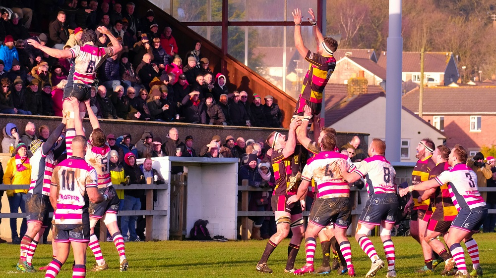 Cinderford 3-8 Rosslyn Park