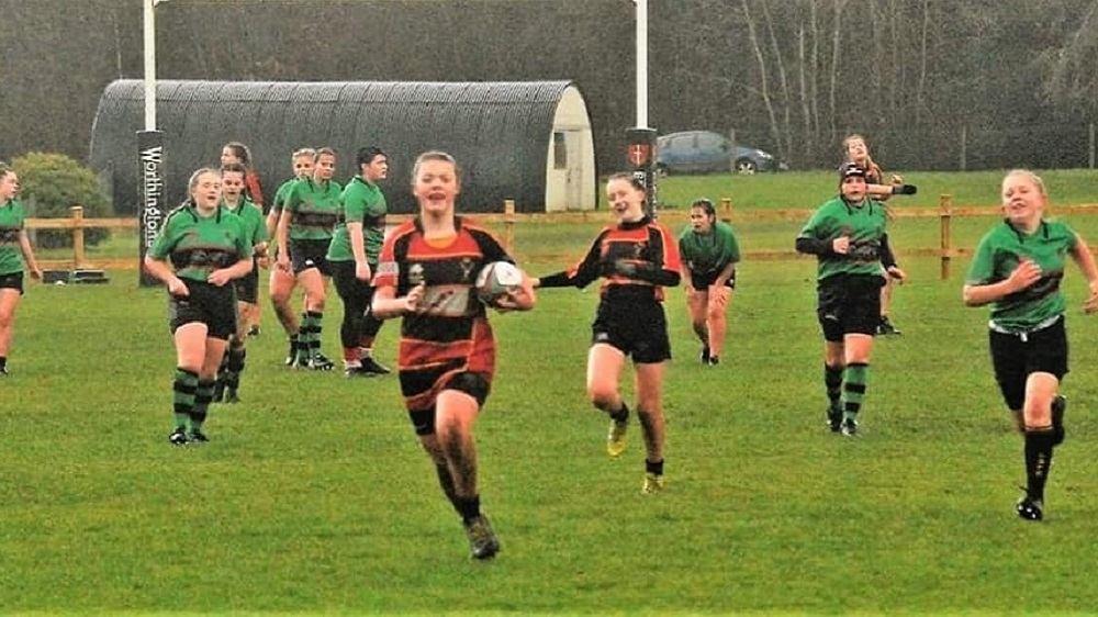 Under 15 Girls win big