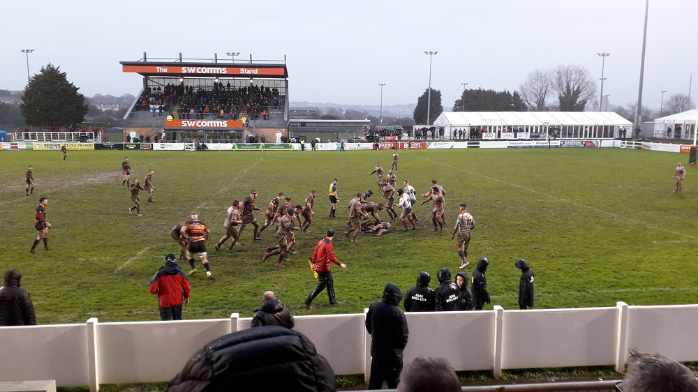 Plymouth Albion 5-18 Cinderford