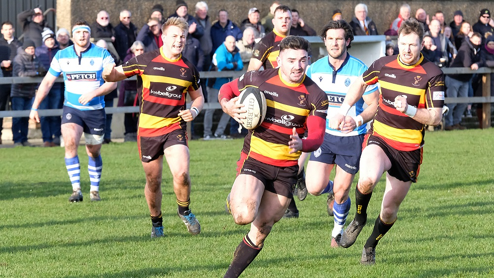 Cinderford 20-14 Darlington Mowden Park