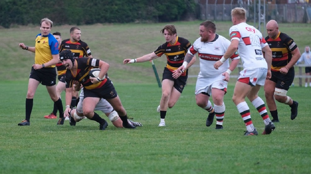 Cinderford 36-12 Plymouth Albion