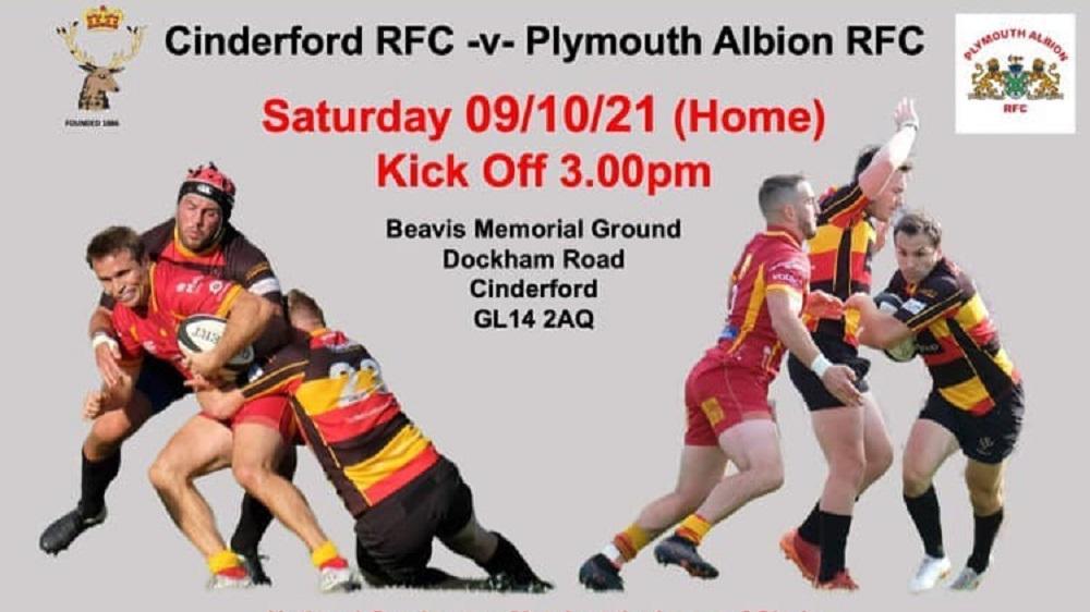Cinderford v Plymouth Albion team news
